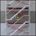 High Quality Stairway Scaffold Tower - 14.2m Max Working Height