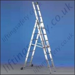 3 Section Ladder - 8.5m Max Working Height