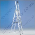 3 Section Ladder - 10.25m Max Working Height