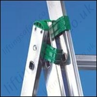 ladder opening safety feature