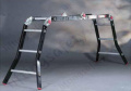 Professional Use Multi-Purpose Six Hinge Ladder with Optional Platform