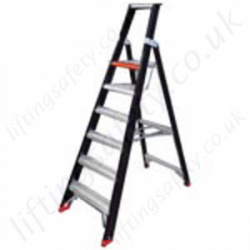 Intensive Professional Use Double Platform Stepladder - Maximum Height of 4.80m