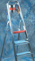 Trade or Domestic Aluminium Stepladder with Platform - Maximum Height of 3.70m