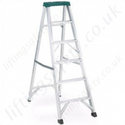 Professional Use Folding Stepladder with Tool Tray