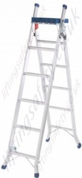 Professionally Used Multi Purpose Ladder - 2.74m Maximum Working Height with Work Tray
