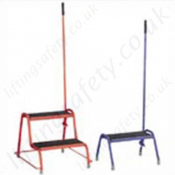 Heavy Duty Handy Steps Tubular Steel GS Standard Approved Powder Coated Finish
