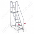 Mobile Steps Tilt & Push Robust, Low Maintenance Optional Factory Fitted Gate 3-6 Steps