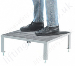 GS Standard Approved Adjustable and Non-Slip Steel Work Platform with Multiple Unit Combinations