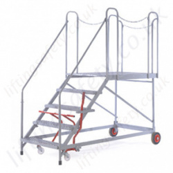 Easy Slope Mobile Access Platform With 48 176 Incline And