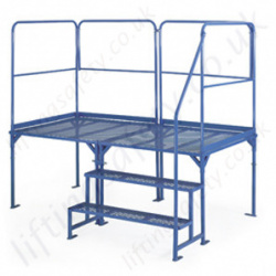 GS Approved Steel Construction Adjustable Work Platform with Epoxy Powder Finish