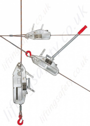 Yale YaleTrac 'Y' Series Cable Puller Wire Rope Hoist for Lifting and Pulling Applications - Range from 800kg to 3200kg (Lifting Capacity)