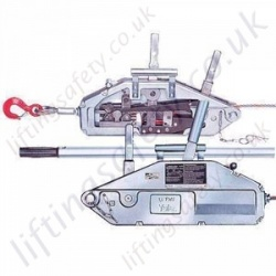 Yale Yaletrac Y Series Cable Puller Wire Rope Hoist For