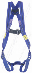 Miller Titan 2 Point Fall Arrest Harness with Rear 'D' Ring & Front Webbing Loops