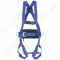 Miller Titan 1 Point Fall Arrest Harness with Rear 'D' & Work Positioning Belt