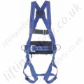 Miller Titan 1 Point Fall Arrest Harness with Rear 'D' & Front Webbing Loops and Work Positioning Belt
