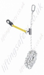 Economy Automatic Guided Fall Arrester Rope Grab - Ranging from 10 - 30m