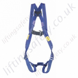 Titan harness 2 point, EN361 Rear D-Ring Front Webbing Loops