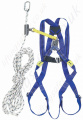 "Miller Titan Economy ""Roofers Restraint"" Height Safety Kit with 2 Point Harness and 10m Automatic Rope Grab."