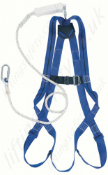Titan Economy Fall Arrest Kit with Single Point Harness and Separate 2m Fall Arrest Lanyard