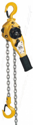 "Yale ""PT"" Ratchet Lever Hoist. Top Quality Pressed Steel Body - Pull-Lift Range from 800kg to 6300kg"