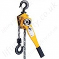 "Yale ""UNOplus"" Ratchet Lever Hoist - Pull-Lift Range from 750kg to 6000kg"