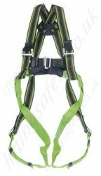 Miller Duraflex Harness  2 Point, EN361   Rear D Ring  Front Webbing Loops