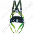 Miller MA60 Duraflex 2 Point Fall Arrest Harness with 1 x Rear 'D' Ring & Front Webbing Webbing Loops and Work Positioning Belt