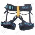 "Miller ""RAM"" Sit Harness for Rescue, Maintenance and Mountaineering (Full Body Harness if Used with ITC Chest Harness)"