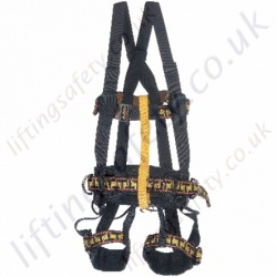 "Miller ""IBXX2R"" Rope Access Safety Harness with Front and Rear 'D' Rings & Work Positioning Belt"