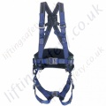 "Miller ""Elastokuik"" Pylon / Telecoms Fall Arrest Harness with rear 'D', Front webbing Loops & Work Positioning Belt"