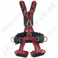 "Miller ""Tower Harness""  Rope Access Fall Arrest Harness with Front and Rear 'D' Rings & Work Positioning Belt"