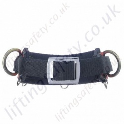 Miller Quick Adjustment Work Positioning Belt For Use With Pole strap & Restraint Lanyard with 2 x Side 'D' Rings