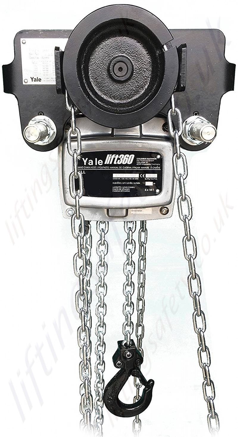 Yale Itg Chain Travel Hoist Geared Hand Chain Block