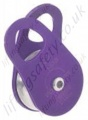 Miller Single Sheave Aluminium Swing Cheek Pulley for Synthetic Rope to Maximum Diameter 12.7mm