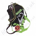 "Miller ""Kit 12"" Scorpion Block Backpack Fall Arrest Kit with Single (Or 2 point) Point Duraflex Harness, 2.8m Scaffold Hook Inertia Reel, Strop and Storage Bag."