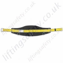 "Miller ""MB00"" Work Positioning Belt For Use With Pole strap & Restraint Lanyard with 2 x Side 'D' Rings - S & M/L"