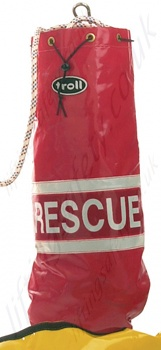 Rescue bag rope