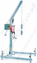 Potex Portable Davit Arm with H-Base and MightEvac