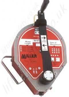 Miller Mn50 Potex Portable Man Riding And Rescue Davit Arm