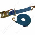 Ratchet Strap With Claw (Hook) 2 Part. 35mm wide x 6m Long
