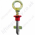 LiftingSafety Temporary Girder Grip Eyebolt Anchor Point for Steel Work. EN795 Compliant. To Fit Hole Size 19 - 28mm Diameter