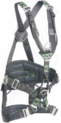 Miller Ropax Rope Access 3 Point Fall Arrest Harness with Front and Rear 'D' Rings & Work Positioning Belt with Choice of Buckles