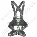 "Miller Ropax ""Basic"" Rope Access Fall Arrest Harness with Front and Rear 'D' Rings & Work Positioning Belt"