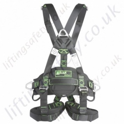 "Miller ""Ropax"" Standard Rope Access Fall Arrest Harness with Front and Rear 'D' Rings & Work Positioning Belt"