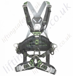 "Miller Ropax ""Premium"" Rope Access Fall Arrest Harness with Front and Rear 'D' Rings & Work Positioning Belt"