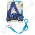 "Titan ""Kit 6"" Economy Fall Arrest Kit with 1 Point Harness Sewn to 2m Shock Absorbing Lanyard with case."