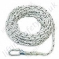 "Titan ""Economy Anchorage Line"" Polyamide Rope. Terminations, Karabiner / Thimble Eye & Plain End Other - 12mm Diameter x 10m, 20m and 30m"