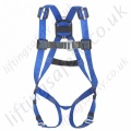 "Miller ""Basic Welder harness"" Fall Arrest Harness for Welding and other ""Hot Work"" Applications (Cutting and Grinding). With Front  'D' Ring."