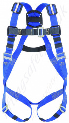 "Miller ""Premium Welder Harness"" Fall Arrest Harness for Welding and other ""Hot Work"" Applications (Cutting and Grinding). With Front 'D' Ring"