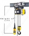 Yale Electric Chain Hoist Cpv Hol
